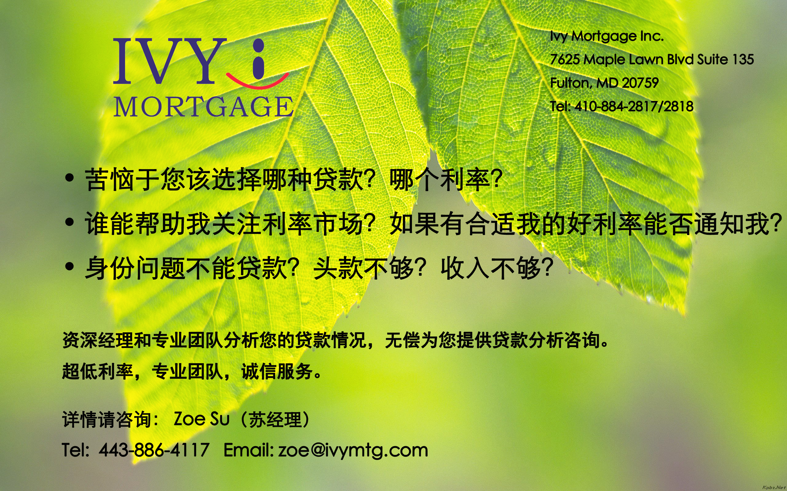 Ivy Mortgage